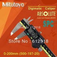 "wholesale price hot/2013  Sanfeng Mitutoyo digital vernier caliper 0-200mm -500-197-20) 0.01""/0.001"""