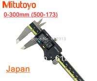 "Digital Mitutoyo 500-173-0-300mm Caliper Stainless Steel Battery Powered Inch/Metric 0-6"" Range +/-0.001"""