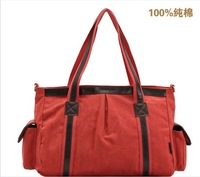 Free Shipping fashion high quality canvas handbag women messenger bags shoulder bags three colors