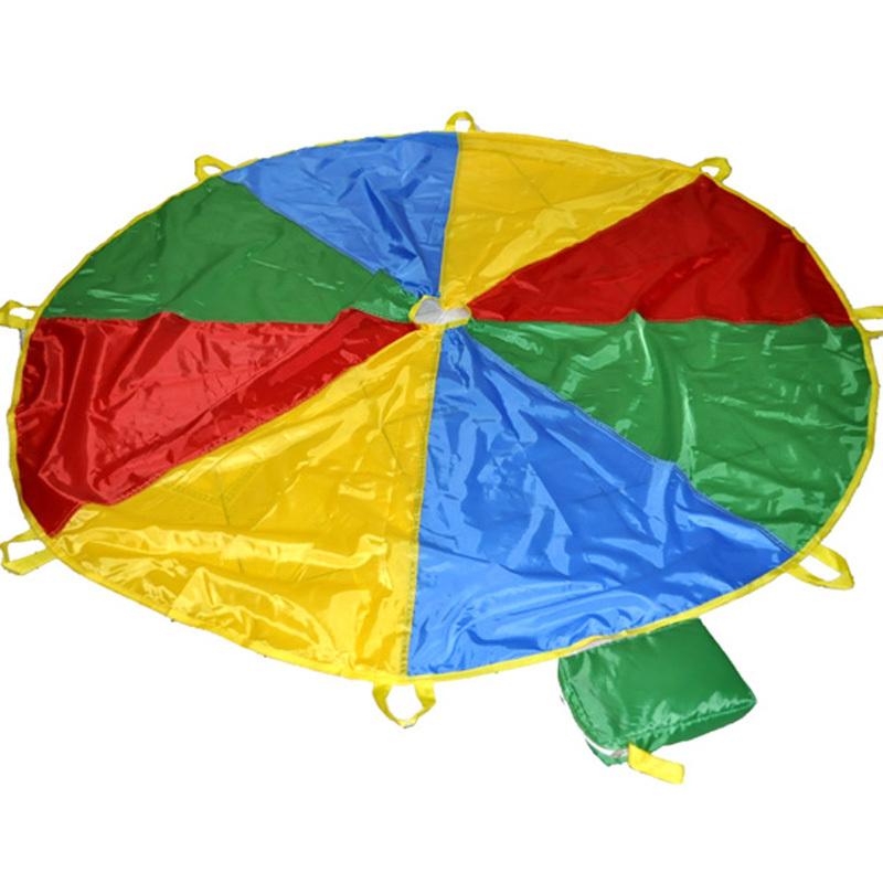 Как сделать парашют из ткани для детей