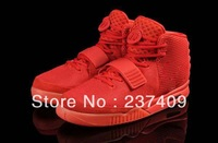 red october kanye west shoes air yeezy 2 men's shoes