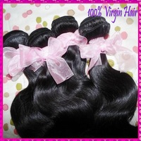 "Unprocessed Mongolian body wave Virgin hair 3 bundles mixed(12""-30"")AAAAAA raw extensions, fast free shipping"