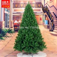 210cm general encryption pvc christmas decoration tree