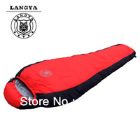 Mummy eiderdown sleeping bag(-20degree),1500G high quality duck down filling,free shipping
