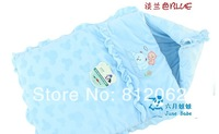 Pure Cotton Thickening Newborn Babies Sleeping Bag Baby Sleeping Bag Infant Wrap Blankets For Baby Free Shipping