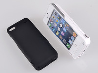 Cell phones cases 4200mAh External Backup Power Battery Charger Case for Iphone 5 iPhone 5s ios 8 ios 7 ios 6 Free Shipping