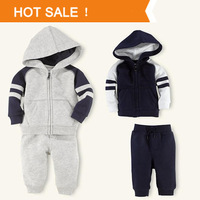 Boys Hoody Jacket+Pants Long-Sleeve Set Hot sale Retail 2013 Atumun New Children Clothing Kids Baby Boy Sport Suit COUT130658