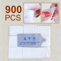 900pcs Free Shipping Nail Art Polish Acrylic Gel Remover Pad Nail Cleanning Wipes Necessities