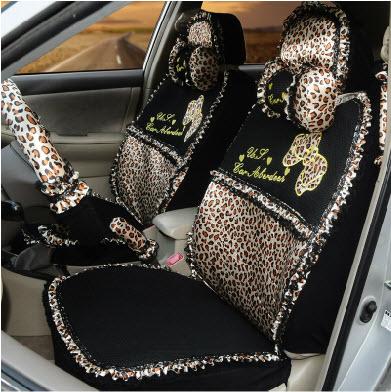Cartoon leopard print zebra print viscose lace summer general car seat covers seat cover 2013(China (Mainland))