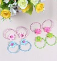 2013 hot  sell  Christmas gifts  baby  hair accessories baby hair tie girl ponytail holder   120pcs/lot   free shipping