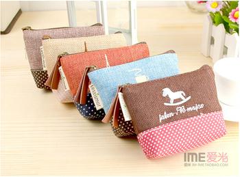 Оптовая продажа корейской версии хлопок сумки, пастырское стиль кошельки, монета ...