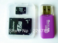 8GB 16GB 32GB 64GB Micro SD Card + Free TF Card Adapter + Gift Card Reader + Free shipping