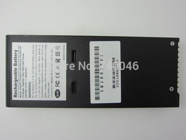 laptop battery for toshiba PA2487URP,PA3107,PA3107U,PA3827,PA3827U,PA2487UG,PA2487U-RM,200,210CDT,400,430,1830 1800 T2 T3(China (Mainland))