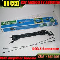 DC3.5 Connector Car Analog Antenna Car analog TV antenna with built-in signal amplifier Car TV antenna Car Analog antenna
