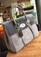Miss suki quality suede fabric women's handbag wool and fur in one vintage messenger bag motorcycle bag handbag