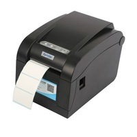 New USB interface direct thermal barcode printer label making machine Adhesive sticker Label printer for clothing tags