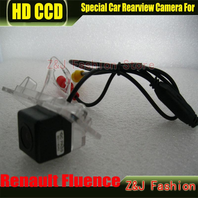 HD CCD Car Rear View Camera Reverse Parking Camera back up Camera for Renault Fluence night vision waterproof Cam Free shipping(China (Mainland))