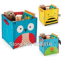 SKP Children's Toys Storage Box Zoo Storage Bins Storage Bag Folding Canvas Owl Bee Dog Ladybug Monkey 5 Styles to Choose