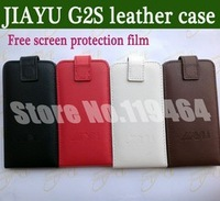 New !!!! Original Cover case for jiayu g2s flip Real leather case + free screen protection film + free shipping
