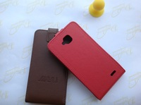 [( Factory outlets )]  Cover case for jiayu g3 g3s g3T  flip Real leather case + free screen protection film + free shipping