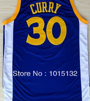 Golden State #30 Stephen Curry Blue Basketball Jersey Free Shipping