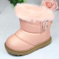 Winter the new children's han edition girls boots lady canister boots boots shoes wholesale free shipping