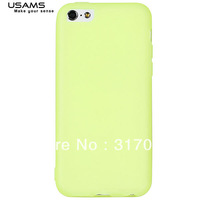 USAMS Fashionable Jelly Series Soft TPU Material Protective Cover Case for iPhone 5C
