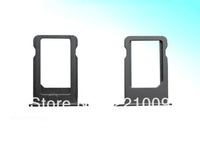 Wholesale SIM Card Tray Holder Replacement for iPhone 5S  50pcs/lot