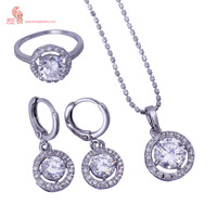 DJECK4S  new arrival  hot sale chrismas gift  Platinum Plated Bridal Jewelry Sets, Free shipping carina for woman free shipping