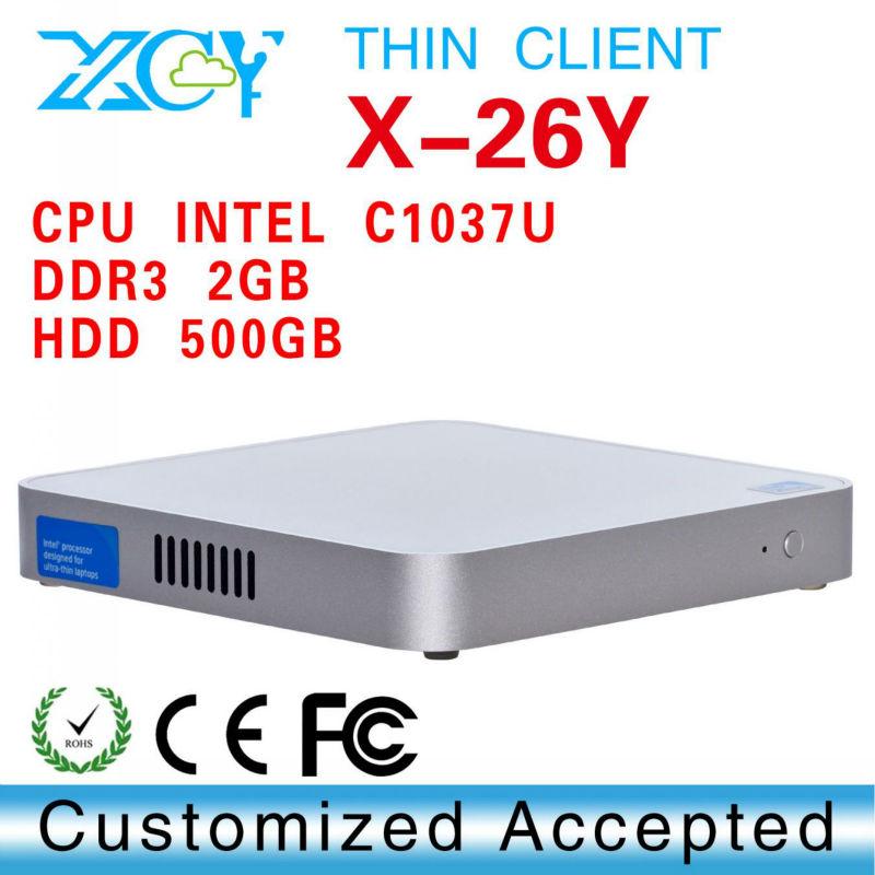 htpc mini pc, mini atx case, computer case, car computer case, XCY X-26Y Desktop c1037u office computer(China (Mainland))