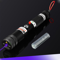700mW 445nm blue laser pointer, portable and focusable, with power switch keys
