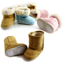 2014 Baby Boy Or Girl Boot Baby Snow Boots Winter/Anti-Slip /Toddler&Infant's Shoes/Footwear/Baby Pre-Walkers 3PCS/ Lot KS1001