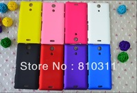 1pcs colorful candy colors rubber hard cover case for Sony Xperia ZR M36H C5502 C5503