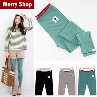 Free shipping 2013 NEW Autumn Fashion Girls Brand Leggings Women Fitness Pure cotton Pants High quality 2pcs/ 5%off