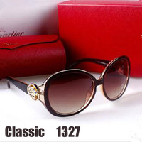 Oculos de sol 1327 Top grade Sunglasses women brand designer 2013 origin sun glasses with box  Free shipping