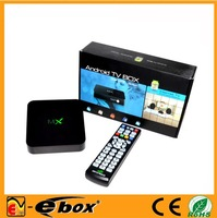 wholesale 100pcs a lot XBMC CS838 Android 4.2 TV box Amlogic 8726-MX Dual core 1.5GHz 1GB RAM 8GB mx  midnight tv box