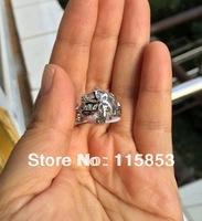 5PCS High Polished The Lord of the Rings Nenya Galadriel Ring of water Size US6/7/8/9  Mixed size