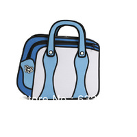 Free Shipping,3d stereoscopic camera bag cartoon unisex bag Beasselling