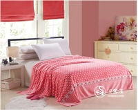 Hot! style flannel blanket law Levin carpet nap blanket single sheets thick blanket coral fleece blanket 150 * 200