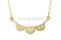 925 Sterling silver necklaces & pendants1 piece dropship women's necklace flower GNX0225/GNX0226/GNX0227