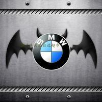 Free Shipping Cheapest American Hero Batman Iron man car metal converted 3d character logo sticker body tail box bat decorative