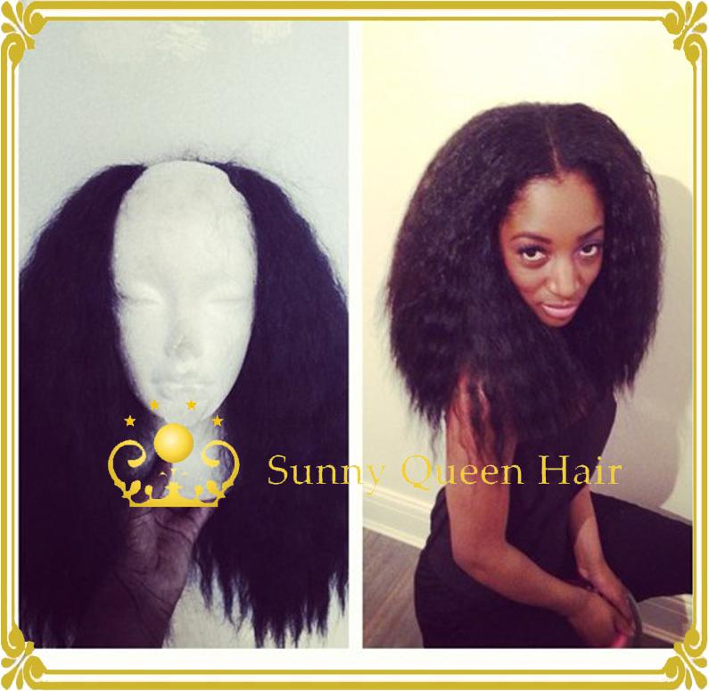 Human Hair Half Wigs For Natural Hair 33