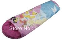 Kids sleeping bag/Mummy-style sleeping bag indoor and outdoor children cotton cartoon sleeping bags