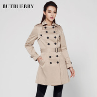 free shipping 2013 the new autumnBPENGRRY factory wholesale new women's autumn and winter double-breasted coat England  home