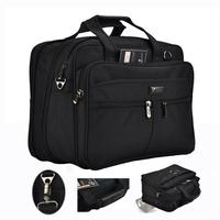 "14"" to 15.6 inch laptop computer handbag for business travel Large capacity men briefcase shoulder messenger bag Free shipping"