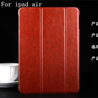 1 pc Thin PU Leather case for iPad Air ipad5 Luxury stand Smart Cover Magnetic for ipad 5