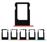 Wholesale  SIM Card Tray Holder Repair Part  For iPhone 5c   20pcs/lot