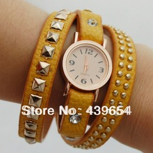 Min 10$ Casual Quartz Round Jewelry Watches With Multi Watch Color For women Bracelet 31.5g