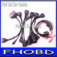 hot sale for tcs scanner diagnostic car cables  full set 8 pieces car cables for cdp pro plus