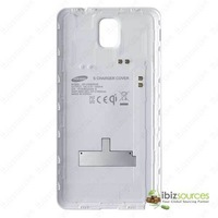 Samsung Galaxy Note 3 S Charger Cover  Rear faceplate Back Cover for Wireless Charger Pad White